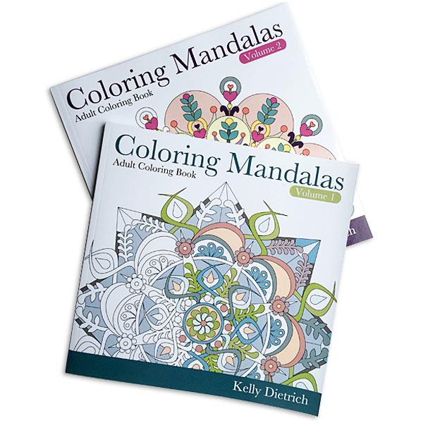 Mandala Coloring Book Series