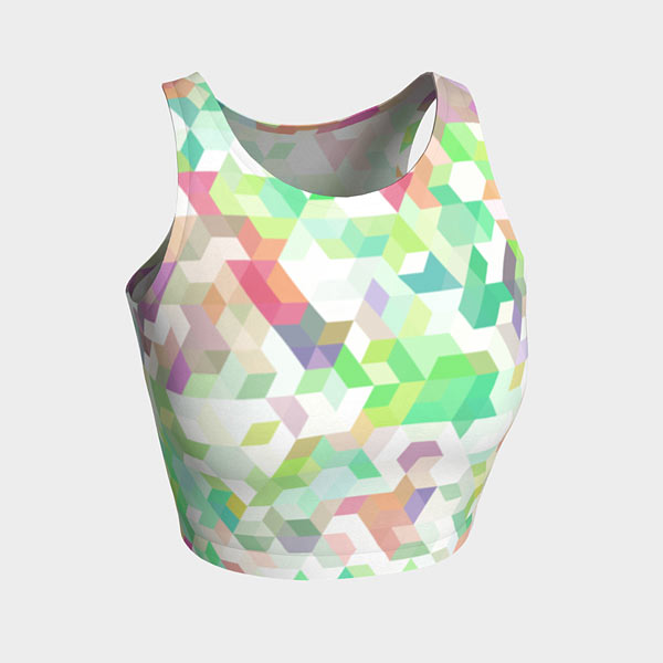 Celebration Athletic Cropped Top