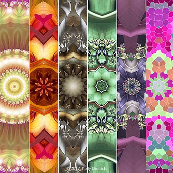 6 Kaleidoscope Animations