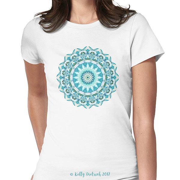 Aquamarine Mandala T-shirt