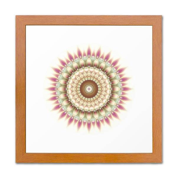 Beauty Mandala 02 Framed Print