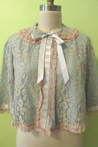 Great Gatsby Lace Cape