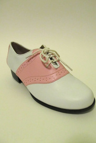Pink Lady Saddle Shoes