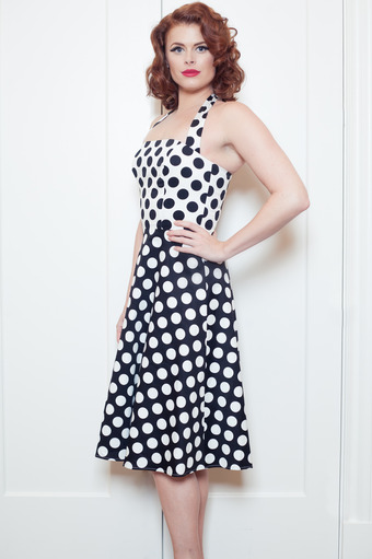 Daring Dottie Swing Dress