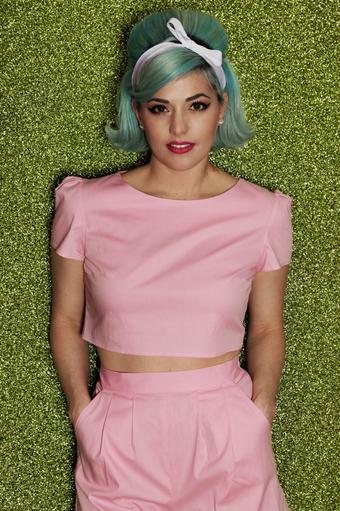 Pop Pink Top