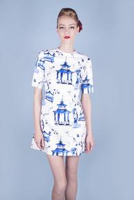 Geisha Garden Party Dress