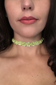 Pop Art Sequin Choker