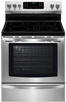 kenmore elite convection oven. best electric range with true convection kenmore elite oven