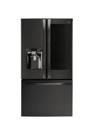 Kenmore Elite® Black Stainless PreView™ Door Grab-N-Go™ Door Refrigerator