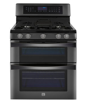 Kenmore Elite® 6.1 cu. ft. Gas Double Oven Range