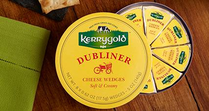 Dubliner cheese wedges thumbnail