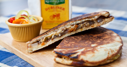 Grilled cheese with pickled vegetables 2669