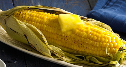 Grilled corn with pure irish butter thumbnail