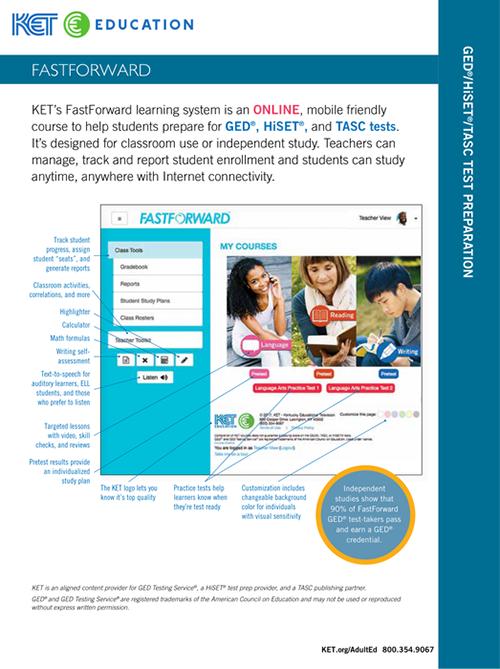 Download fast forward brochure