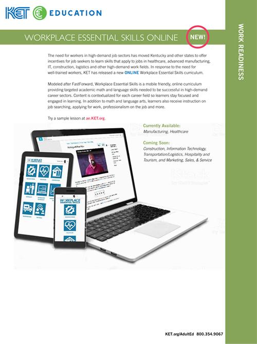 Download worplace essential skills brochure