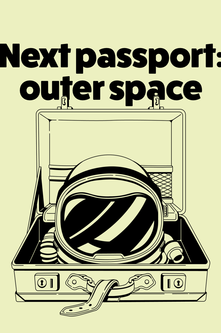 Next passport outer space