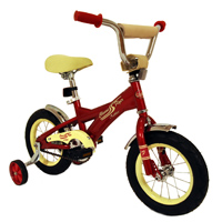 "Verso 12"" Classic Flyer Bicycle, Red other image"
