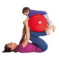 PHYSIO ROLL 40, RED