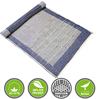 Blue Yoga Mat Kit other image