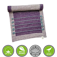 Purple Yoga Mat Kit other image