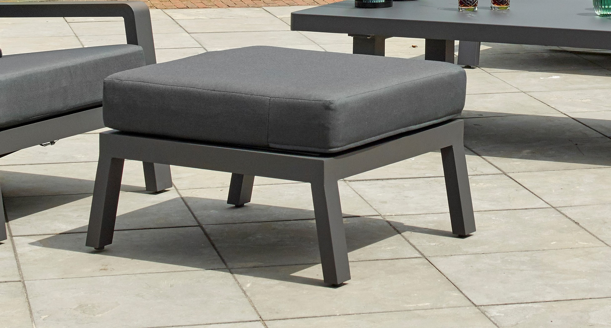 BOSTON LOUNGE OTTOMAN, LAVA