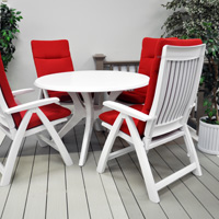 Roma 5-PC Set w/ Cushions