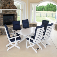 Tiffany 7-piece set with cushions