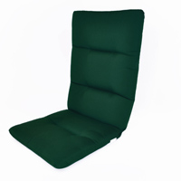 Hinged High-Back Chair Cushion