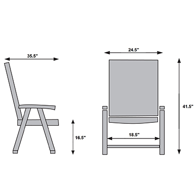 SIEGER MULTI-POSITION CHAIR,