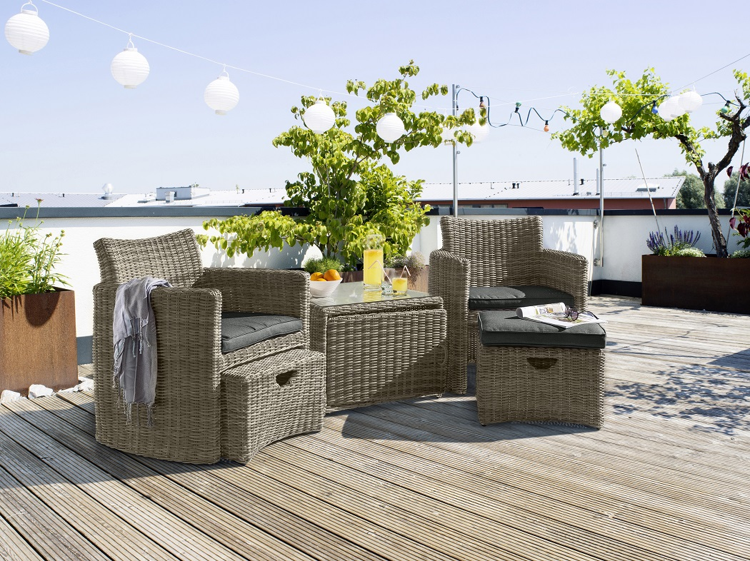 CUPIDO SET, RATTAN other image
