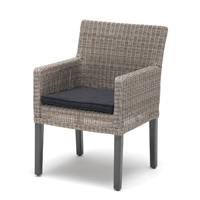 Bretange chair with cushions other image