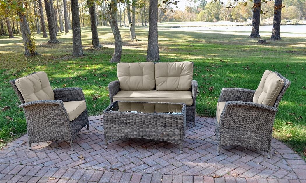 Lakena 4 piece set w/cushions  other image
