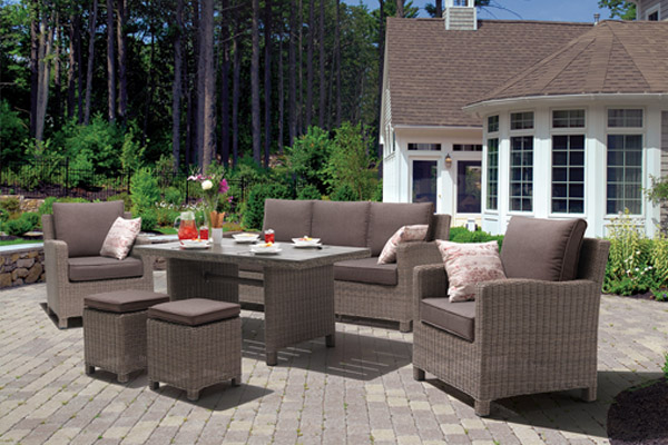 Wicker Patio Furniture | Wicker Tables, Chairs & Accessories