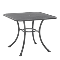 "32"" Square Mesh Dining Table"