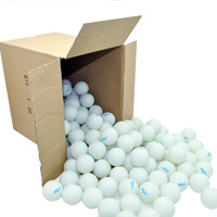 144 count 1 Star Balls - KETTLER - White - Gross pack other image