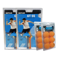 GTX 55 Table Tennis Paddle Two-Player Set other image
