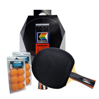 Carbon Ace Table Tennis Paddle Two-Player Set other image