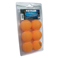 3-Star Orange Table Tennis Balls other image