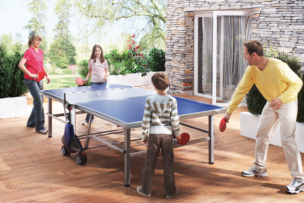 2ee5e5d52 Outdoor table tennis is a great sport for all ages. It promotes development  of hand-eye coordination and teamwork. As early as the 1960s