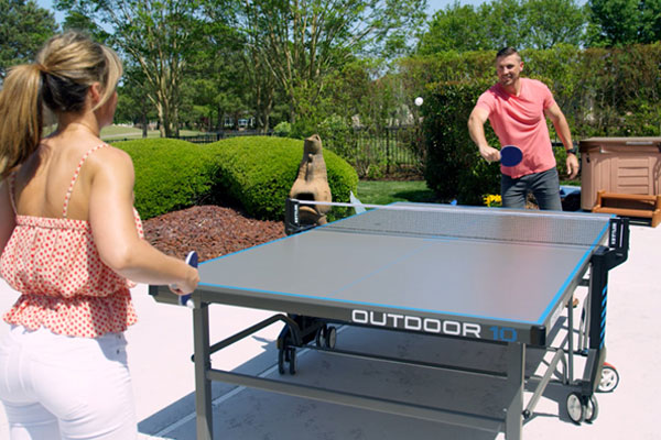 Outdoor Table Tennis Is A Great Sport For All Ages. It Promotes Development  Of Hand Eye Coordination And Teamwork. As Early As The 1960s, KETTLER  Engineers ...