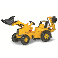 CAT FRONT LOADER w/BACKHOE