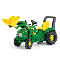 JOHN DEERE X-TRAC W/ FT LOADER other image
