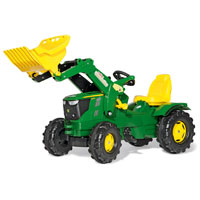 JOHN DEERE FARM TRAC W/LOADER other image