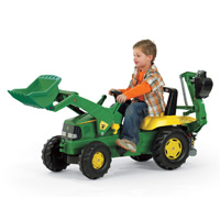 JOHN DEERE LOADER W/BACKHOE