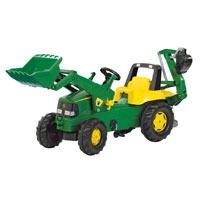 JOHN DEERE LOADER W/BACKHOE other image