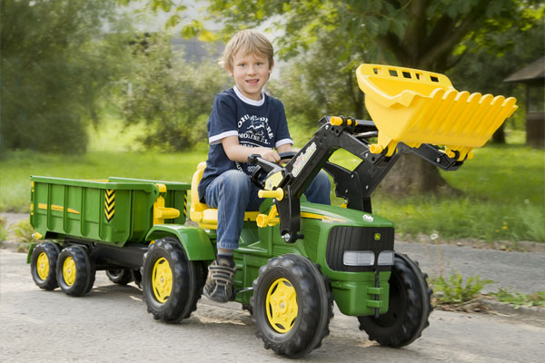 John Deere Pedal Tractors And Ride Ons Kettler Usa