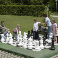 Giant Chess Set other image
