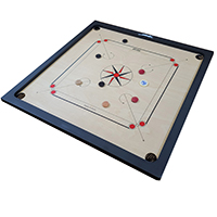 HOBBY CARROM BOARD-NATURAL other image