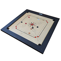 Carrom Game in Natural Finish other image
