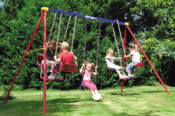 Buy Durable Metal Swing Sets & Swing Set Add-Ons Online | Kettler USA